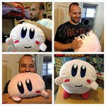 Kirby Plushie! by Nsomniotic
