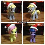 Filly Derpy, Twilight and Fluttershy