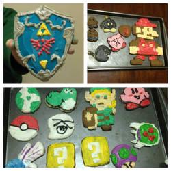 Nerdy Christmas Cookies by Nsomniotic