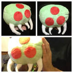 Baby Metroid Plushie by Nsomniotic