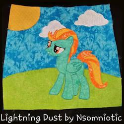 Lightning Dust Quilt Square
