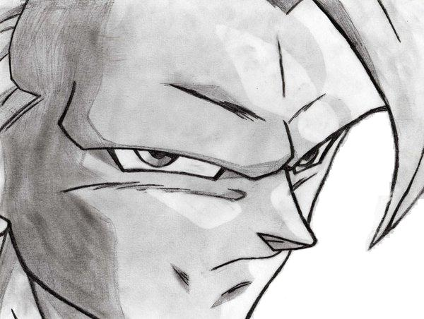 Goku ssj3 by visar02 on deviantart - Comment dessiner goku ...