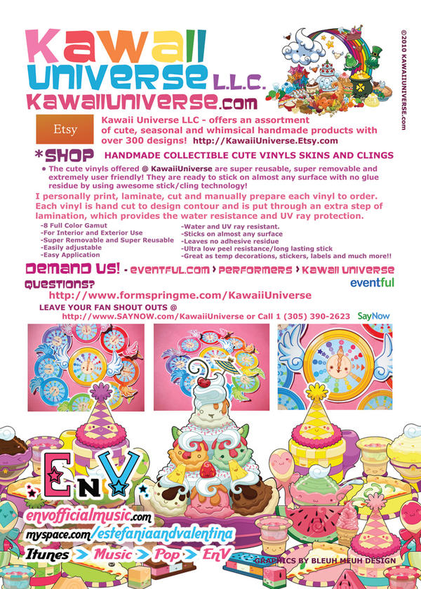 Kawaii Universe Flyer by KawaiiUniverse