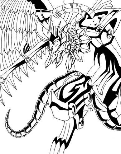 The Winged Dragon Of Ra By Akasha Kaiba On DeviantArt