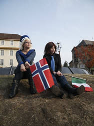 Norway and Italy