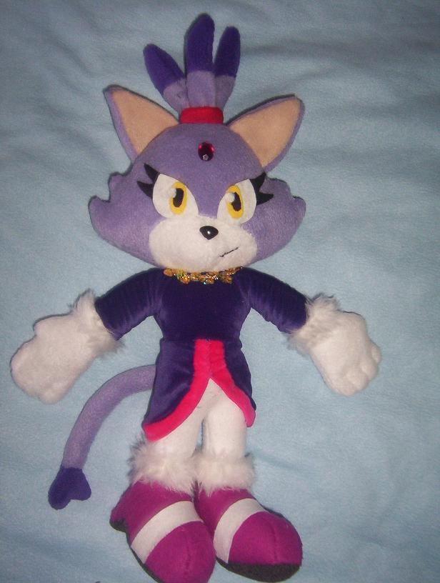 BLAZE THE CAT 4 PLUSH by Victim-RED