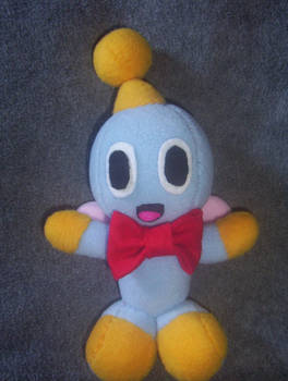 CHEESE THE CHAO PLUSHIE