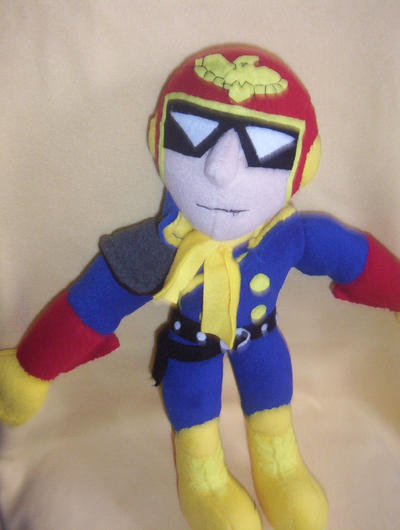 CAPTAIN FALCON PLUSH by Victim-RED