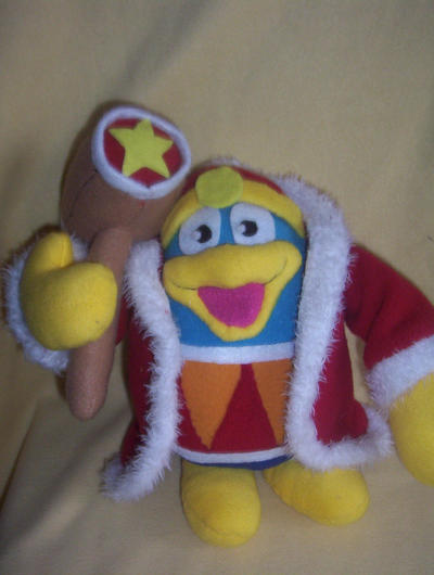 10 INCH DEDEDE PLUSH by Victim-RED