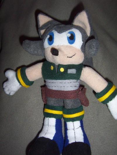 ALTERNATED LukeVei-Da-Hedgehog plush by Victim-RED
