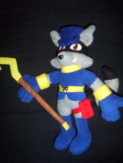 Sly Cooper Stuffed Animal, Sly Cooper Plush By Victim Red On Deviantart