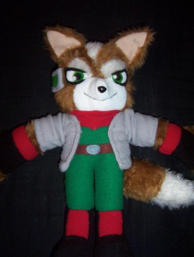 STARFOX  FOX MCCLOUD PLUSH by Victim-RED