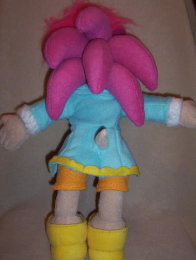 SONIA THE HEDGEHOG PLUSH BACK by Victim-RED