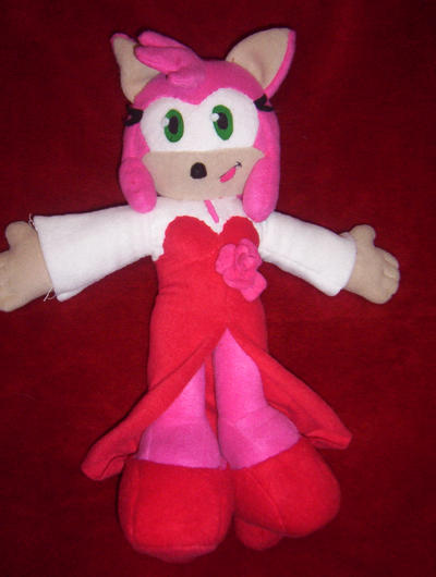 AMY ROSE PLUSH by Victim-RED