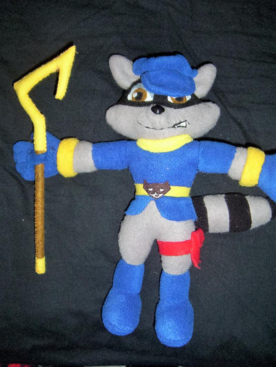 Sly Cooper Stuffed Animal, Sly Cooper Plush Again By Victim Red On Deviantart