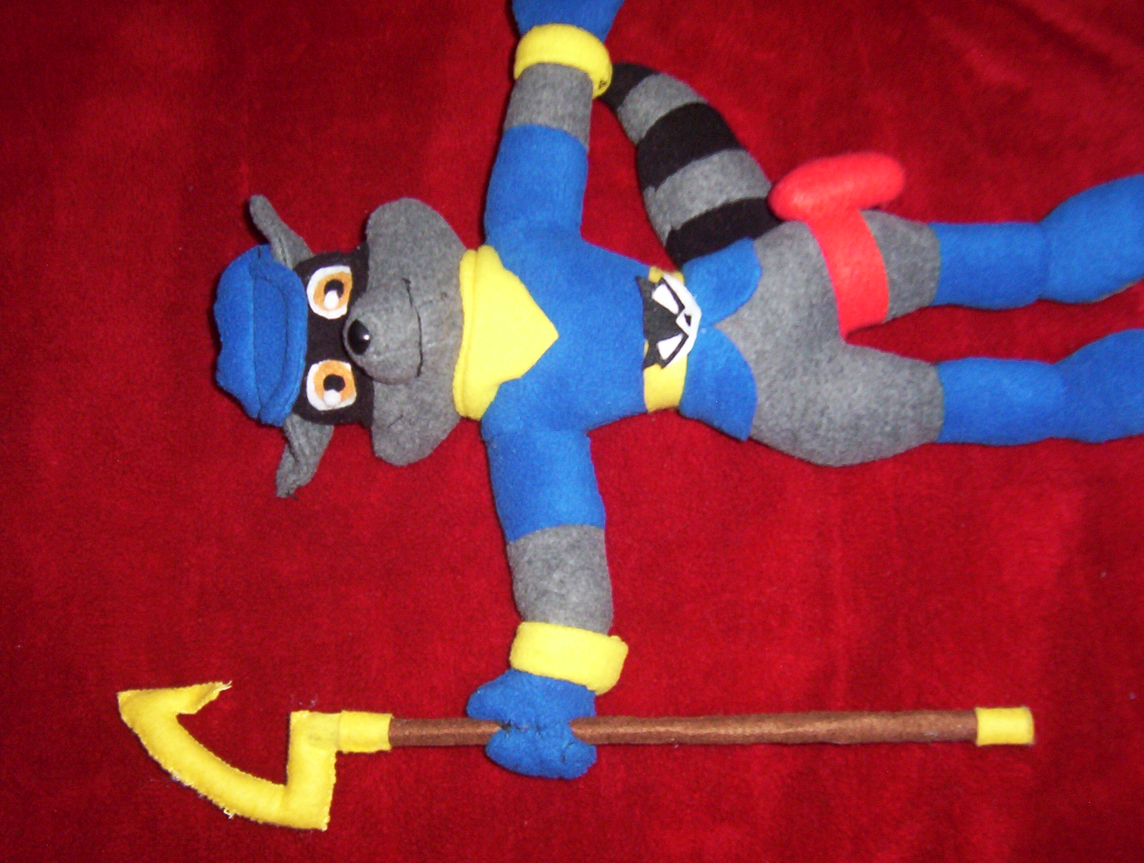 Sly Cooper Stuffed Animal, 15 Inch Sly Cooper Plush By Victim Red On Deviantart