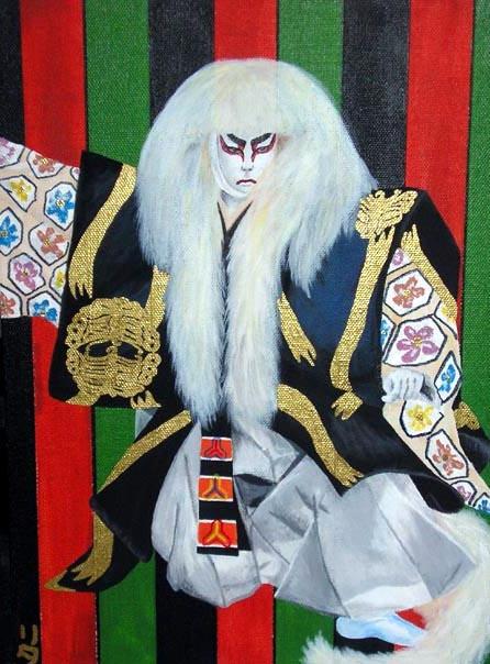 Kabuki Lion by taichiorange
