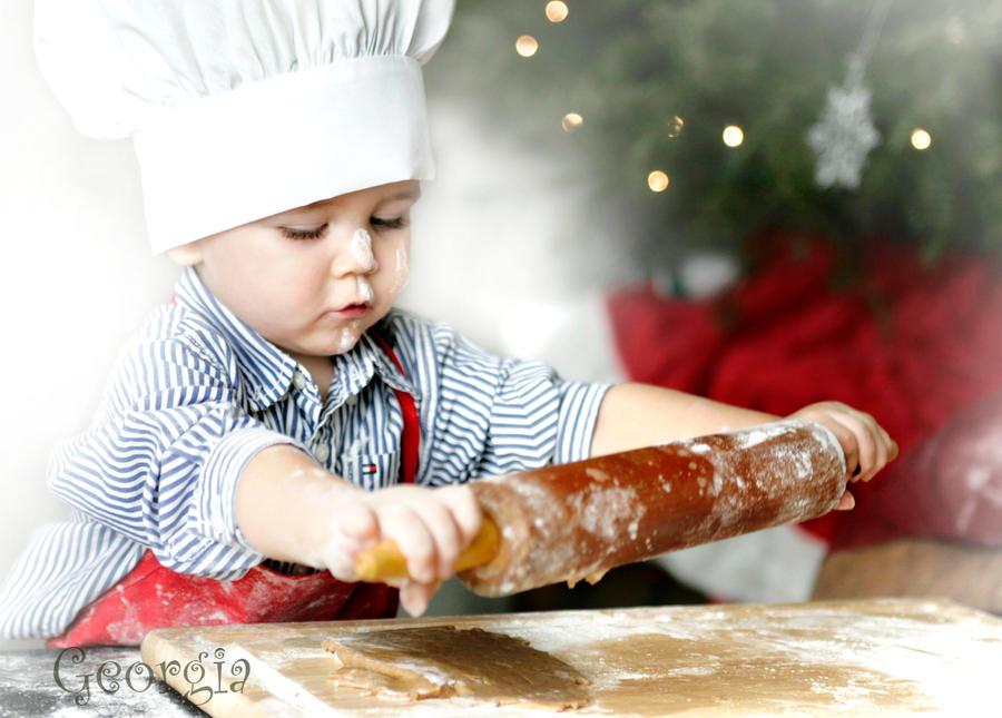 Child Christmas Baking 1 by ForeverCreative