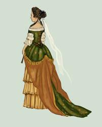 1670 .:2:. Robe de Cour by Tadarida