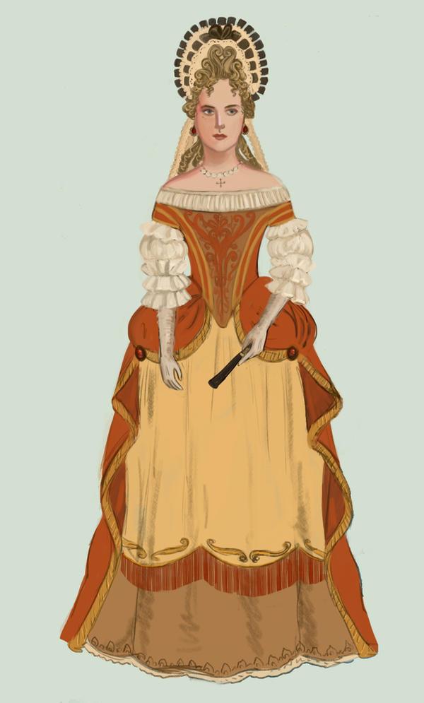 1680 .:3:. Robe de Cour by Tadarida