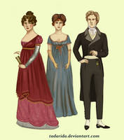 1810 evening wear by Tadarida