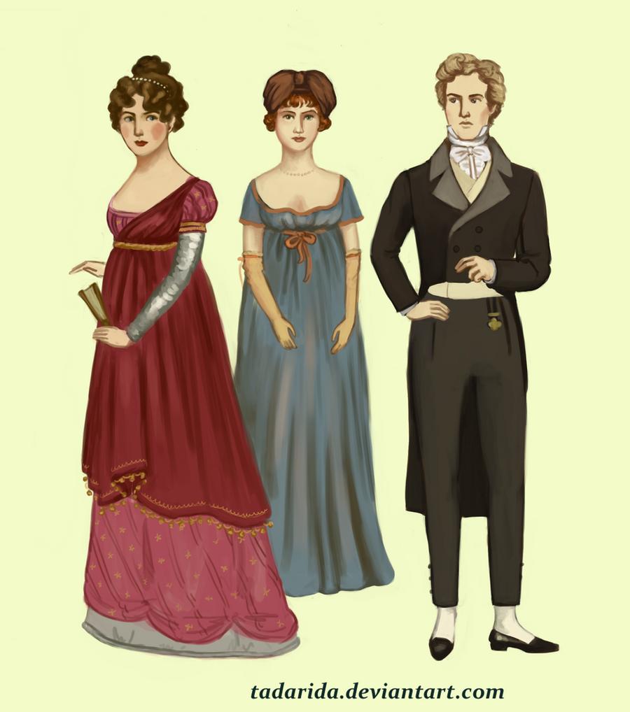 1810 evening wear by Tadarida
