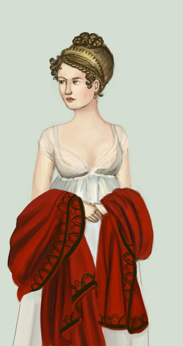 1798 .:2:. evening dress by Tadarida