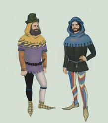 1370 .:4:. Men in hoods by Tadarida
