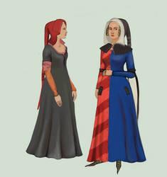 1330 Women in hoods by Tadarida