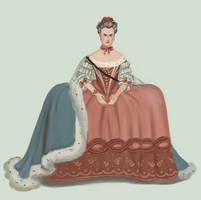1760 Robe de Cour by Tadarida