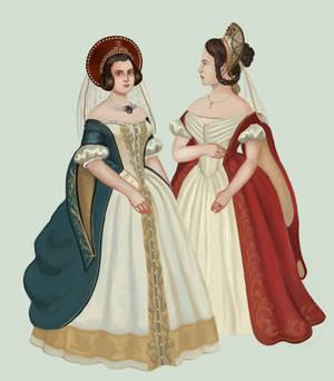 Russia 1840 (court)