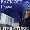 Zexion has LITERATURE by AnimeFreakSammy