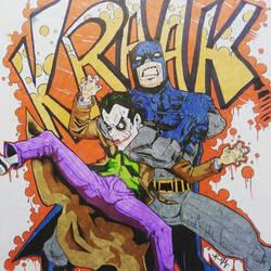 KRACK kills... so did the Batman.
