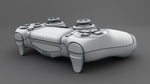 PS4 Controller - Playstation 4 Controller 3D Model