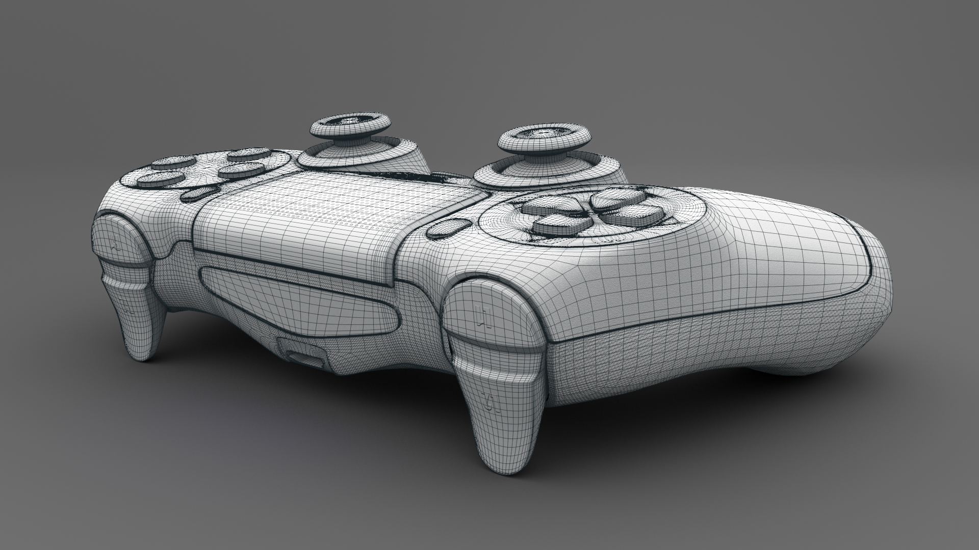 Ps4 controller playstation 4 controller 3d model by for Decor 3d model