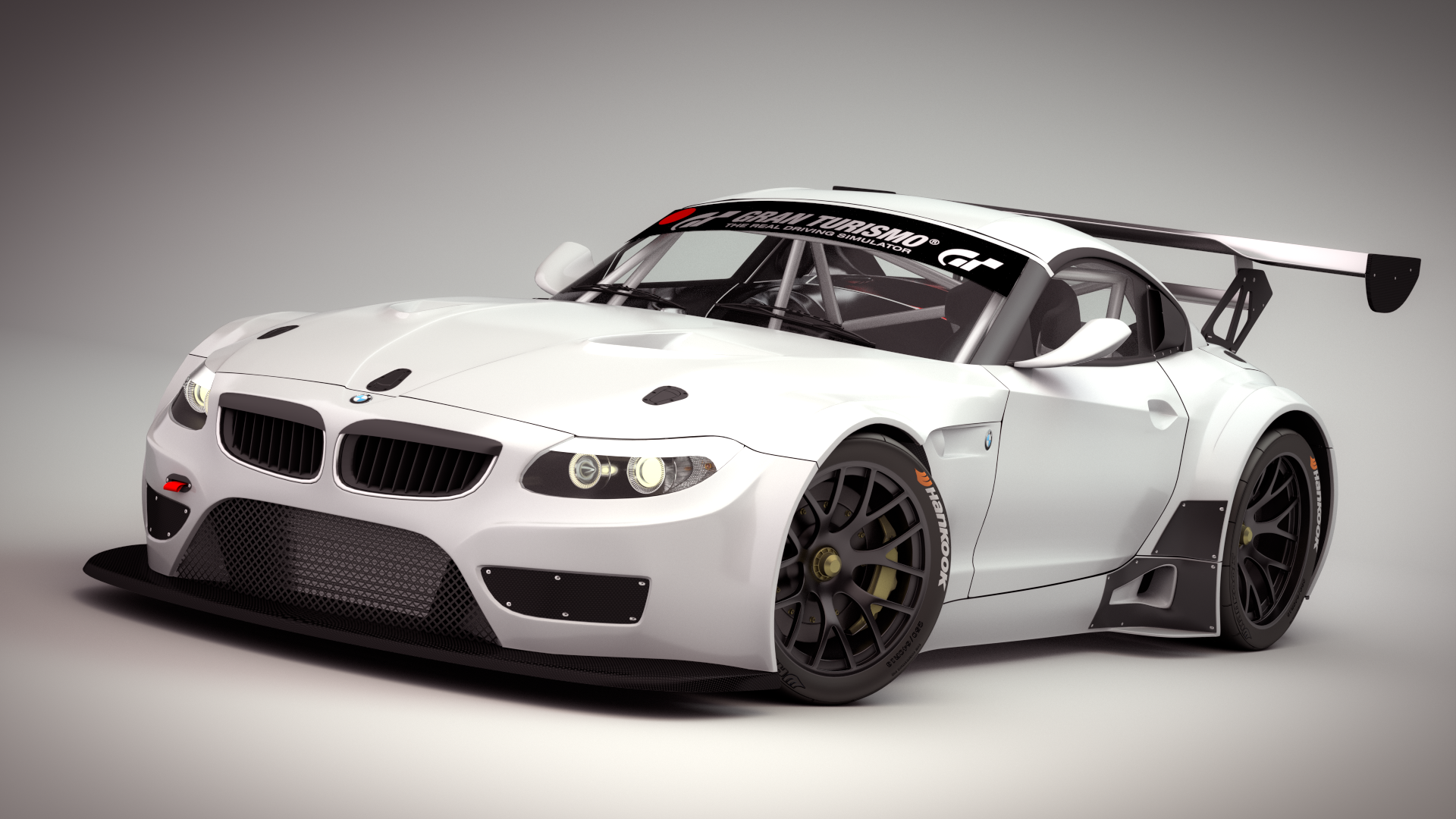 Bmw Z4 Gt3 3d Model Studio Light By Neubi3d On Deviantart