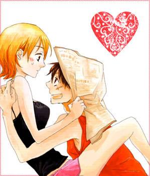 Nami x Luffy: Hi Nami
