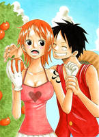 Nami surprised by 24person