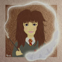 Hermione and the Otter by Aerie-Faerie