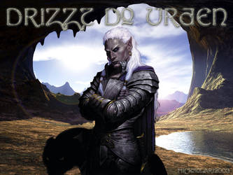 Drizzt Do Urden wallpaper by RoninGraphics