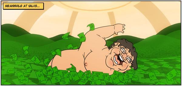 Gaben's 'Money Pool' by dendrok