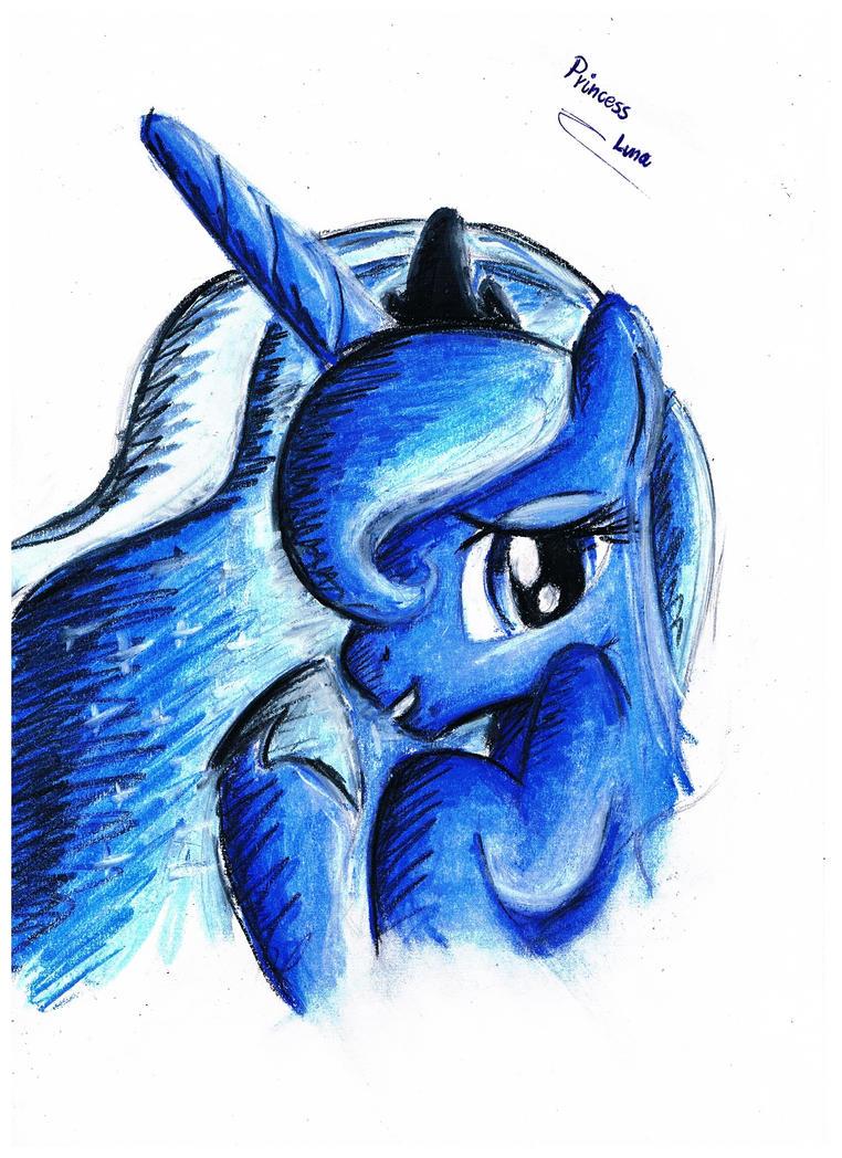 Princess Luna by koniareczka10