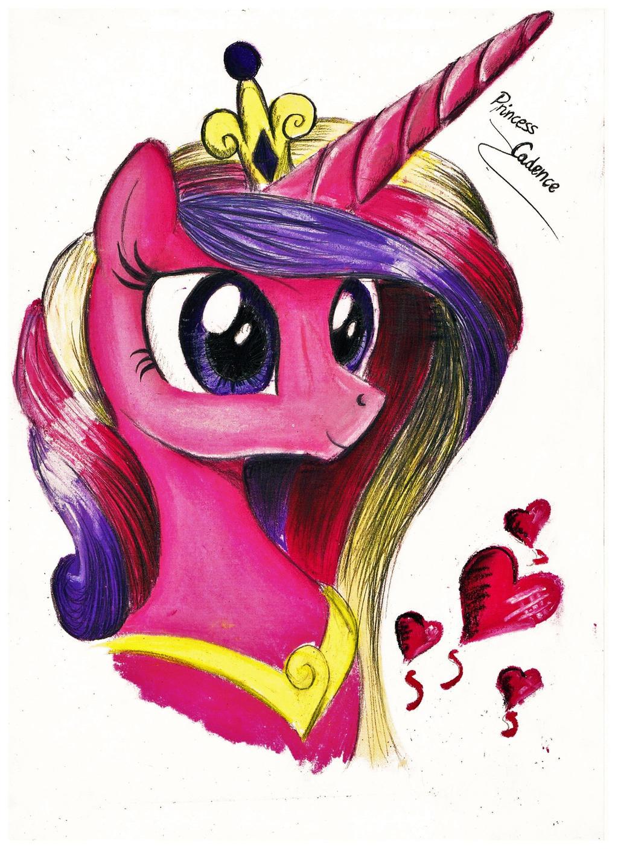 Princess Cadence by koniareczka10