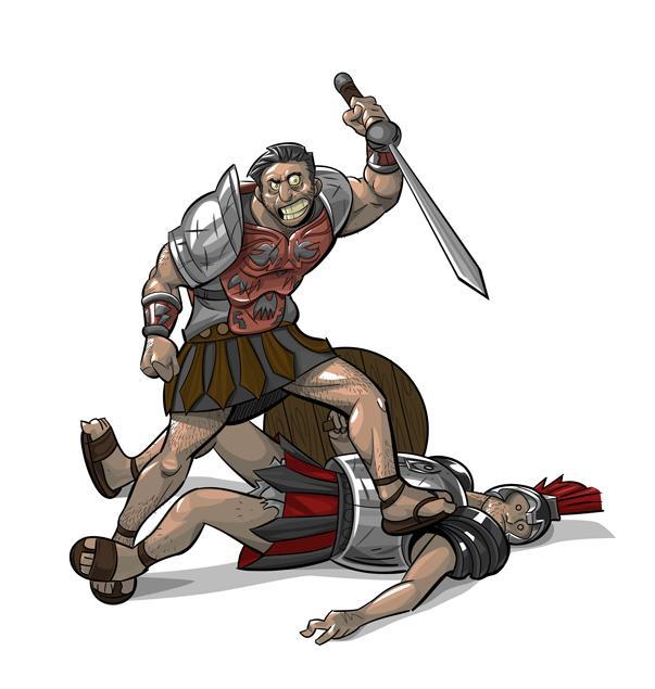 Gladiators by mendigo-amigo