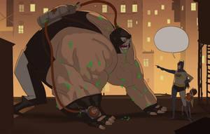 Get him, Robin! by mendigo-amigo