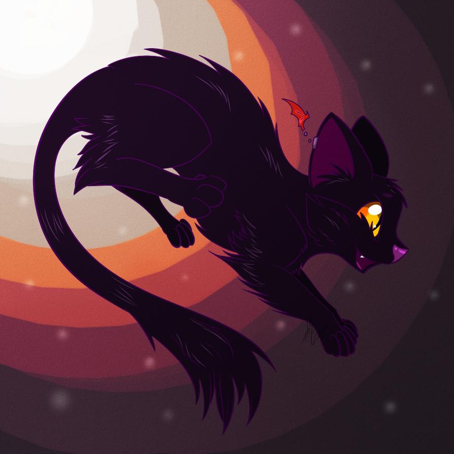 8. Black Cat by silver-phoenix103