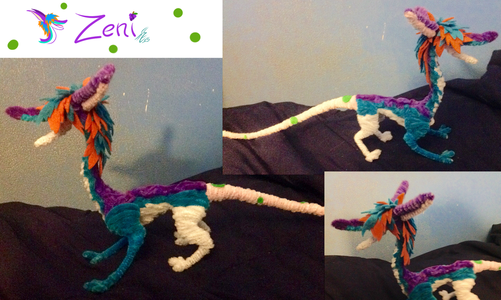 Pipe cleaner Zeni by silver-phoenix103