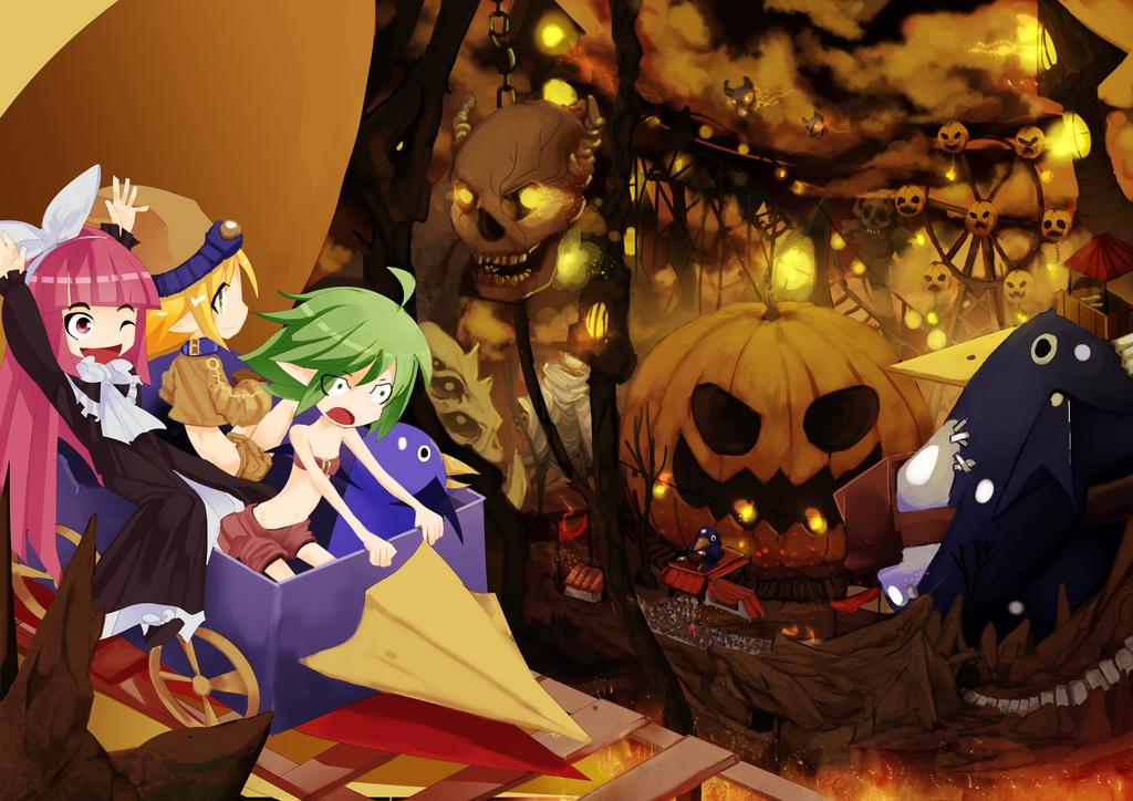 Disgaea Halloween! by Miamelly
