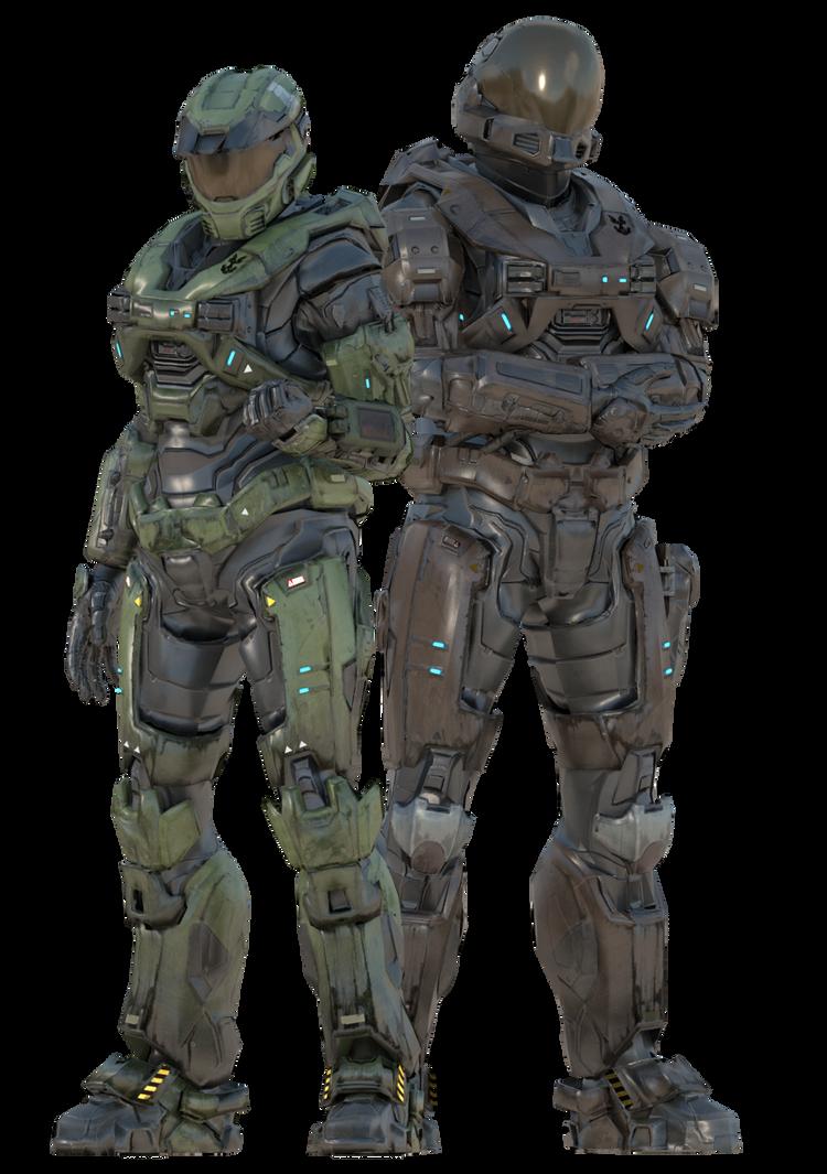 Raven and Luke (Reach Armor) by UltimateKaiju