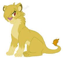 Savannah lioness